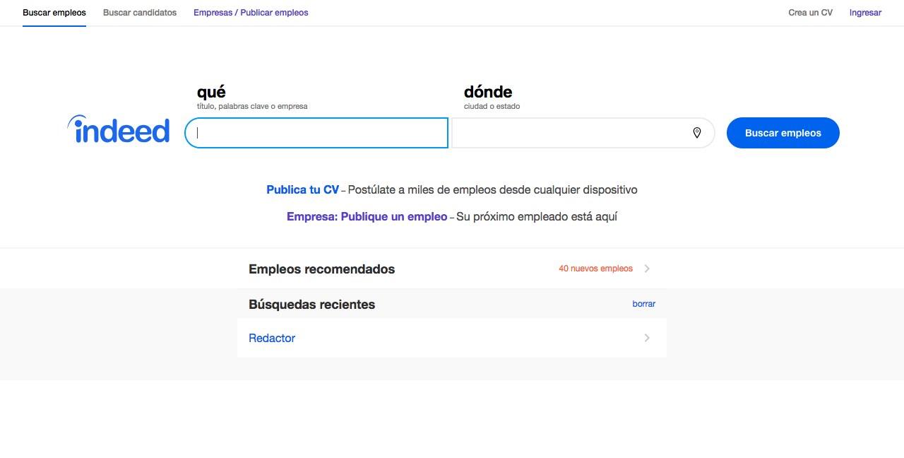 La mejores sitios web para encontrar y publicar empleos en México